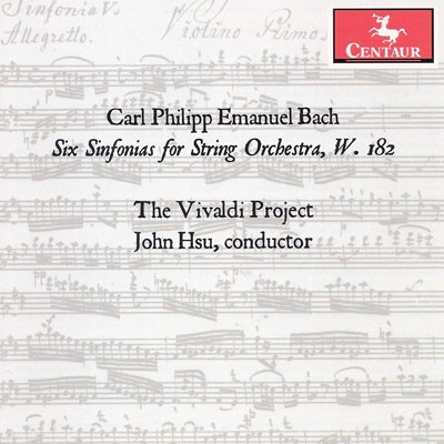 CRC 3176 Carl Philipp Emanuel Bach:  Six Sinfonias for String Orchestra, W. 182