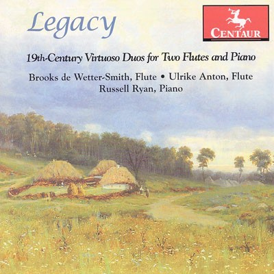 CRC 3201 Legacy:  19th-Century Virtuoso Duos for Two Flutes and Piano