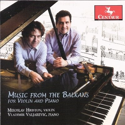 CRC 3208 Music from the Balkans for Violin and Piano.  George Enescu:  Sonata for Violin and Piano No. 3, Op. 25