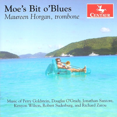 CRC 3241 Moe's Bit o'Blues.  Douglas O'Grady:  Improvisation No. 1, for solo trombone