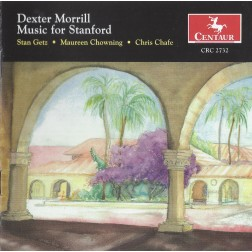 CRC 2732 Dexter Morrill: Music for Stanford.  Getz Veriations for tenor sax and tape