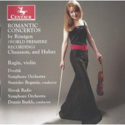 CRC 2790 Romantic Concertos.  Julius Rontgen:  Violin Concerto in A minor