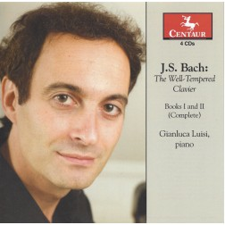 CRC 3040/3041/3042/3043 J.S. Bach:  The Well-Tempered Clavier, Books I and II (Complete)