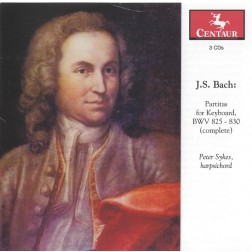 CRC 3122/3123/3124 J.S. Bach:  Partitas for Keyboard, BWV 825-830 (complete)