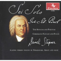 CRC 3283/3284 J.S. Bach:  The Sonatas and Partitas; Chromatic Fantasy and Fugue (2 CDs)