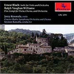 CRC 2094 Ernest Bloch: Suite for Viola and Orchestra