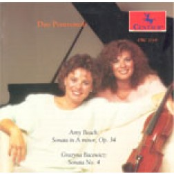 CRC 2119 Amy Beach: Sonata Op. 34