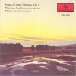 CRC 2136 Songs of Hans Pfitzner, Vol. 1