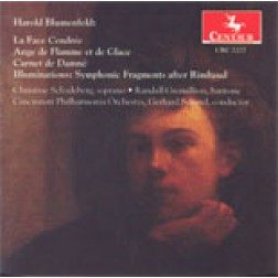 CRC 2277 Harold Blumenfeld.  Contemporary vocal and orchestral works after Arthur Rimbaud.