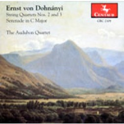 CRC 2309 Ernst von Dohnànyi:  String Quartet No. 2 in D-Flat Major, Op. 15