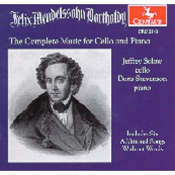 CRC 2343 Felix Mendelssohn:  The Complete Music for Cello and Piano