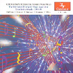 CRC 2347 CDCM Computer Music Series, Volume 25.  The International Computer Music Association Awards--1994-96.  Works by Stephen Mantague, Jonty Harrison, Michael Matthews, Ricardo Dal Farra, and Frances White