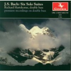 CRC 2348/2349/2350 J.S. Bach:  Six Solo Suites (suites for cello) performed on double bass
