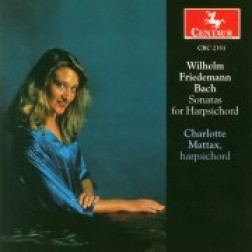 CRC 2351 Wilhelm Friedemann Bach:  Sonatas for Harpsichord:  Sonata I in G Major, F.7
