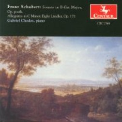 CRC 2365 Franz Schubert:  Sonata in B-flat Major, Op. Posth.
