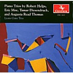 CRC 2410 Piano Trios by Robert Helps, Eric Moe, Tamer Diesendruck, and Autusta Read Thomas