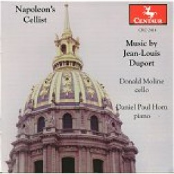 "CRC 2414 ""Napoleon's Cello: Music by Jean-Louis Duport.""  Sonata No. 1 in G Major, Romance"