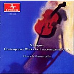 CRC 2426 Soliloquy: Contemporary Works for Unaccompanied Cello