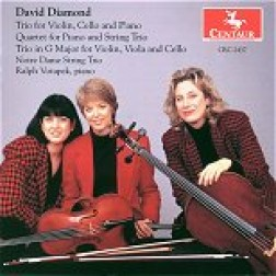 CRC 2437 David Diamond: Trio for Violin, Cello and Piano