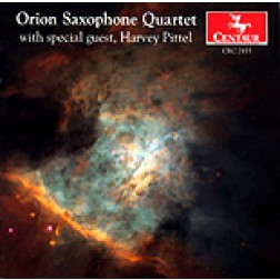 CRC 2455 Orion Saxophone Quartet, with special guest, Harvey Pittel: Jean River: Grave et Presto