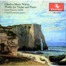 CRC 2475 Charles-Marie Widor: Sonata No. 1 for piano and violin, op. 50