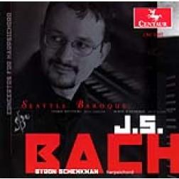 CRC 2497 J.S. Bach: Concertos for Harpsichord
