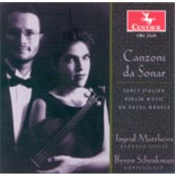 "CRC 2529 ""Canzoni da Sonar: Early Italian Violin Music on Vocal Models"""