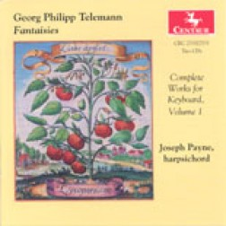 CRC 2530/2531 Georg Philipp Telemann: Complete Works for Keyboard, Volume 1  Fantaisies
