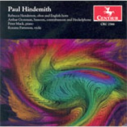 CRC 2566 Paul Hindemith: Sonata for Oboe and Piano