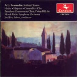 CRC 2650 A.L. Scarmolen: Italian Operas.  La Serenata Interrotta (Lyric Opera in one act)