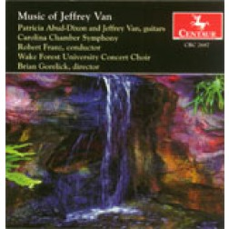 CRC 2687 Music of Jeffrey Van.  Reflexiones Concertantes: Concerto for Two Guitars and Chamber Orchestra
