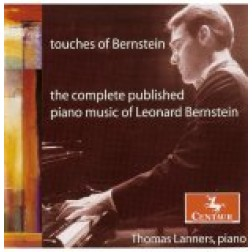 CRC 2702 Touches of Bernstein: The Complete Published Piano Music of Leonard Bernstein.  Touches - Chorale, Eight Variations and Coda