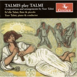 CRC 2749 Talmis play Talmi.  Yoav Talmi:  Elegy for Strings, Timpani and Accordion