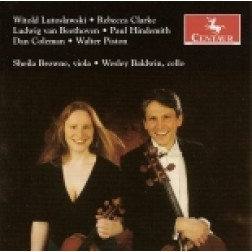 CRC 2798 Witold Lutoslawski:  Bucolics for Viola and Cello
