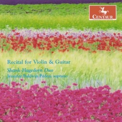 CRC 2838 Recital for Violin & Guitar.  Archangelo Corelli:  Sonata Op. 5, No. 3 (arr. Hagedorn)