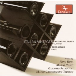 CRC 2843 Italian Vintages. Giacomo Setaccioli: Sonata for Clarinet and Piano in Eb Major, Op. 31