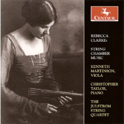 CRC 2847 Rebecca Clarke:  String Chamber Music.  Lullaby for Viola and Piano