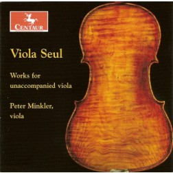 CRC 2854 Viola Seul:  Works for unaccompanied viola.  J.S. Bach:  Suite No. 2 in D minor, BWV 1008