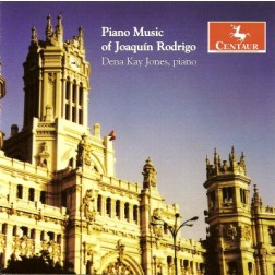 CRC 2891 Piano Music of Joaquin Rodrigo.  Uite para piano