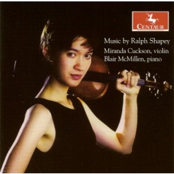 CRC 2900 Music by Ralph Shapey.  Five for violin and piano
