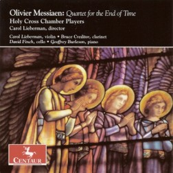 CRC 2915 Olivier Messiaen:  Quartet for the End of Time.  Holy Cross Chamber Players (Carol Lieberman, violin