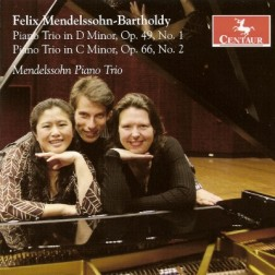 CRC 2925 Felix Mendelssohn-Bartholdy:  Piano Trio in D Minor, Op. 49, No. 1