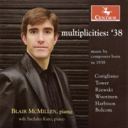 CRC 2953 multiplicities:  '38  Music by composers born in 1938.  John Corigliano:  Chiaroscuro