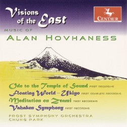 CRC 2954 Alan Hovhaness:  Ode to the Temple of Sound