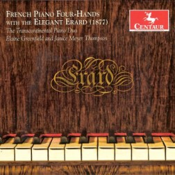 CRC 3071 French Piano Four-Hands with the Elegand Erard (1877).  Claude Debussy:  Petite Suite
