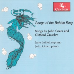 CRC 3138 Songs of the Bubble Ring.  John Greer:  Palm Court Songs for the Bubble Ring, Op. 10