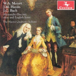 CRC 3179 W.A. Mozart:  Quartet in F Major, KV 370 for Oboe, Violin, Viola and Cello
