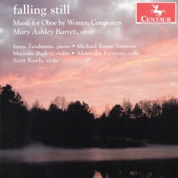 CRC 3182 falling still:  Music for Oboe by Women Composers