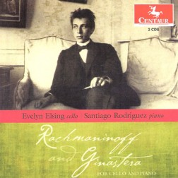 CRC 3247/3248 Rachmaninoff and Ginastera for Cello and Piano