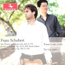 CRC 3250 Franz Schubert:  Duo Sonata in A Major, Op. 162, D. 574
